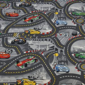 Spielteppich Car Racing